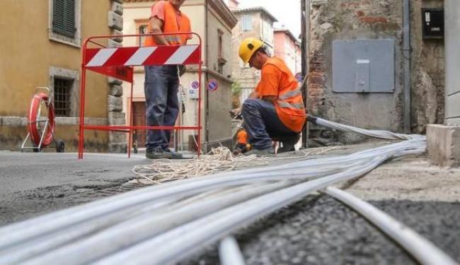 Banda ultralarga a Sassari, i nuovi cantieri