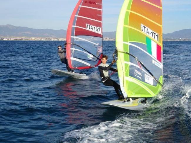Vela olimpica. I windsurfisti cagliaritani Maggetti e Ciabatti a Miami per la coppa del mondo