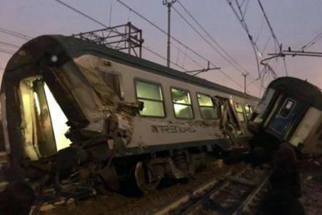 treno deragliato, si aggrava il bilancio, 10 feriti gravi